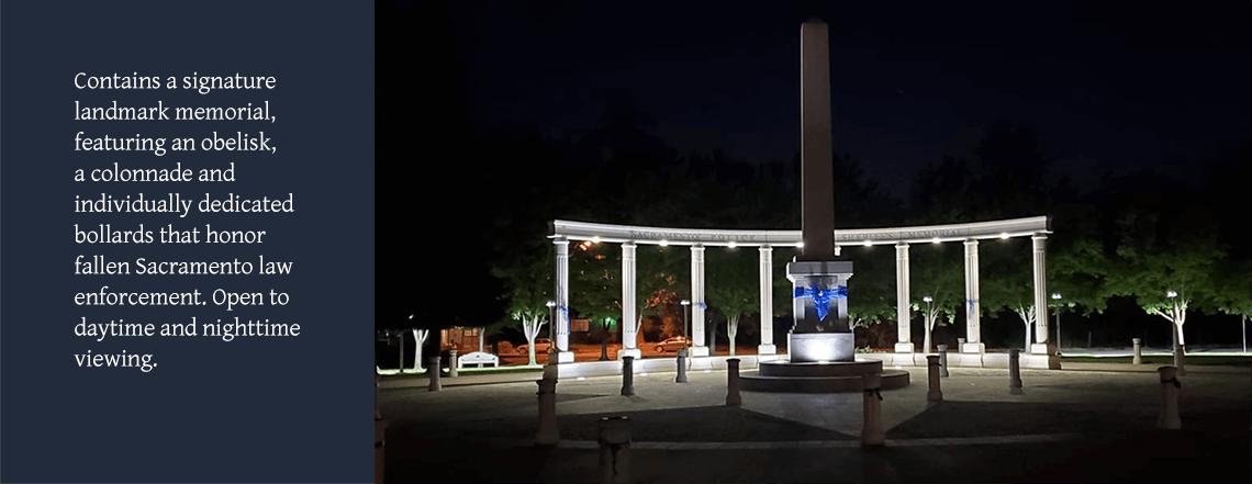 03 Memorial at Night Slide